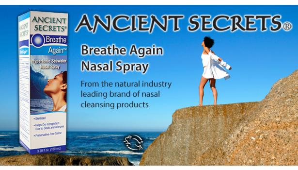 Breathe Again Nasal Spray