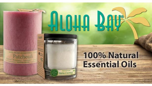 Aloha Bay Palm Wax Candles