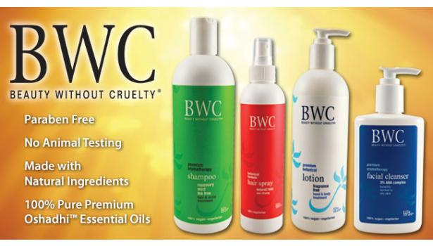 Beauty Without Cruelty Body Care & Cosmetics
