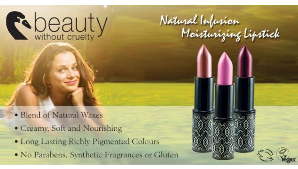 Beauty Without Cruelty Lipsticks