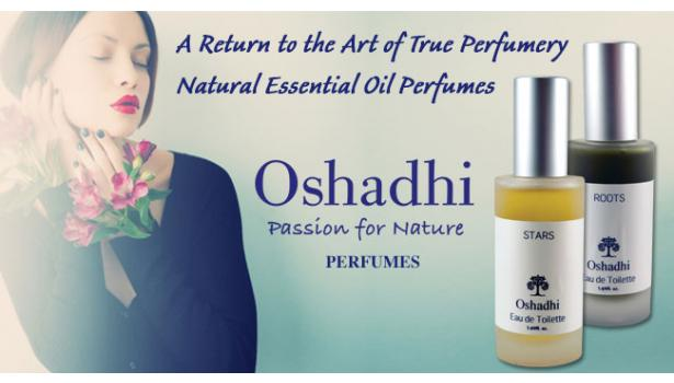 Oshadhi Essential Oil Perfumes