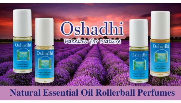 Oshadhi Essential Oil Roller Ball Perfumes
