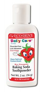DailyCare Toothpowders Strawberry For Kids 2 oz
