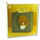 Feng Shui Accessories Natural Lavastone Aroma Lamp with Tea Light