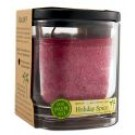 Ecopalm Square Jar Holiday Spice Red 8 oz