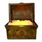 Glass And Interactive Series Treasure Chest w402
