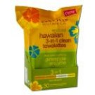 Hawaiian Skin Care Pineapple Enzyme 3 in 1 Towelettes 30 pk