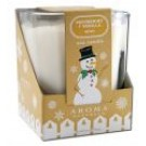Special Occasions Wish Peppermint Vanilla Soy Large Square Glass Jar