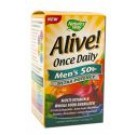 Alive! Supplements Once Daily Mens 50+ 60 tabs