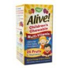Alive! Supplements Alive! Childrens Multi-Vitamin Chewable 120 ct