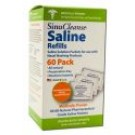 Sinucleanse Saline Refill Packets 60 ct