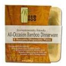 "All-occasion Bamboo Plates Square Plate 5"" 8 pack"