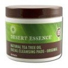 Facial Care Products Natural Cleansing Pads w\/Tea Tree Oil 50\/jar