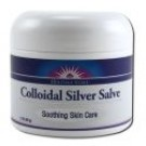 Heritage Store Body Care Colloidal Silver Salve 2 oz