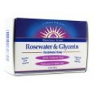 Bar Soap Rosewater and Glycerin 3.5 oz