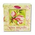 Fragrant Herbal & Floral Soaps (boxed) White Magnolia Round Boxed 4.2 oz