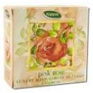 Fragrant Herbal & Floral Soaps (boxed) Pink Rose Round Boxed 4.2 oz