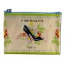 """Coin Purse 4.3"""" x 3.2"""" If The Shoe Fits"""
