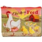 "Coin Purse 4.3"" x 3.2"" Chicken Feed"