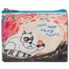 """Coin Purse 4.3"""" x 3.2"""" Need More Shiny Things"""
