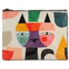 "Zipper Pouch 9.5"" x 7.25"" Mister Cat"