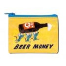 "Coin Purse 4.3"" x 3.2"" Beer Money"