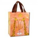 """Handy Totes 9.5"""" x 10.5"""" x 4"""" Giraffes Are Good People"""