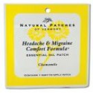 Essential Oil Single Patches Chamomile Headache and Migraine