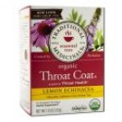 Organic Tea (16 Bags Per Box) Lemon Echinacea Throat Coat