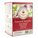 Herbal Teas (16 tea bags per box) Cold Season Herb Tea Sampler Caffeine Free