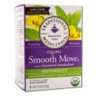 Herbal Teas (16 tea bags per box) Smooth Move Peppermint 16 ct