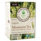 Organic Tea (16 Bags Per Box) Mountain Tea with Lemon Balm and Caraway 16 ct