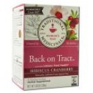 Herbal Teas (16 tea bags per box) Back On Tract Hibiscus Cranberry 16 ct