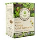 Organic Tea (16 Bags Per Box) Golden Ginger 16 ct