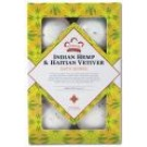 Bath Bombs Indian Hemp and Haitian Vetiver 6 ct