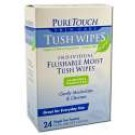 Organics Tush Wipes 24 ct