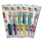Childrens Toothbrushes Totz Plus 3 yrs+ Assorted Colors Silky Soft