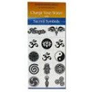 Water Blessing Labels Sacred Symbols Collection 14 pc