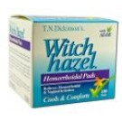 Witch Hazel Products Hemorrhoidal Pads 100s