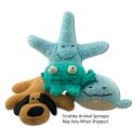 Loofah & Sea Sponges Scrubby Animal Sponges Assorted