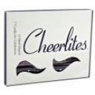 Candles 3 Inch Hand Dipped - Glitter Black Silver Glitter
