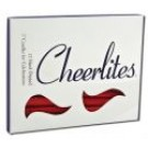 Candles 3 Inch Hand Dipped - Glitter Red Multi Glitter