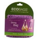 Classic String Bags Long Handle Raspberry