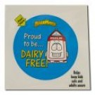 Stickers & Labels Dairy Free Sticker 24 ct