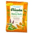 Ricola Cough & Throat Drops Honey Herb 3 oz
