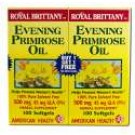 Royal Brittany EPO Evening Primrose Oil 500 mg 100s