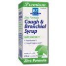 Tonic & Cough Syrup Cough and Bronchial with Zinc 4 oz