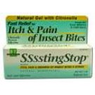 Homeopathic Gels Ssssting Stop 1 oz