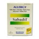 Allergy Remedies Sabadil 60 tabs