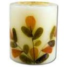 3 in Pillar (2-3\/4 in x 3 in) Flower Candles Ylang Ylang